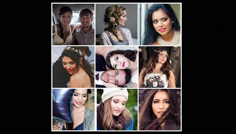 makeup artist model